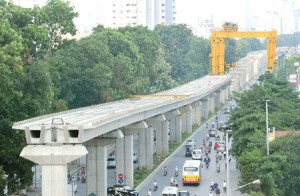 Bóc khối lượng Công trình đường sắt trên cao