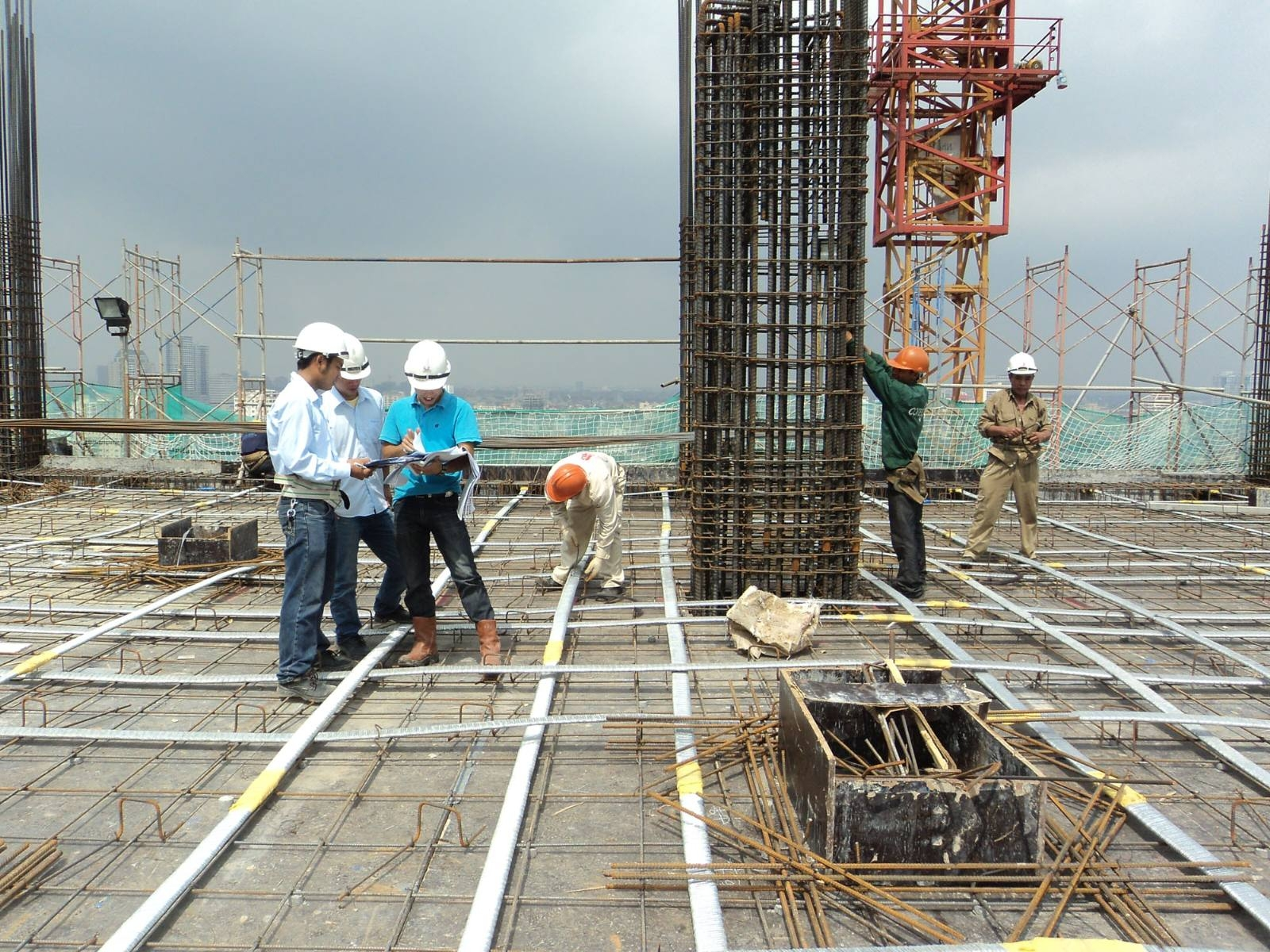 Tài liệu về Giám sát thi công hạng mục cầu đường, vật liệu, lắp đặt thiết bị