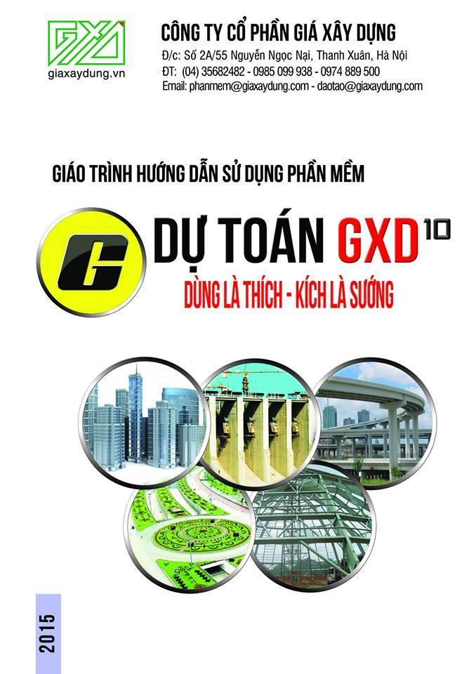 Tài liệu về Đo bóc khối lượng và lập Dự toán trên Phần mềm Dự toán GXD 10