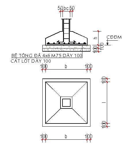 Khái niệm về mặt cắt trong bản vẽ thiết kế xây dựng
