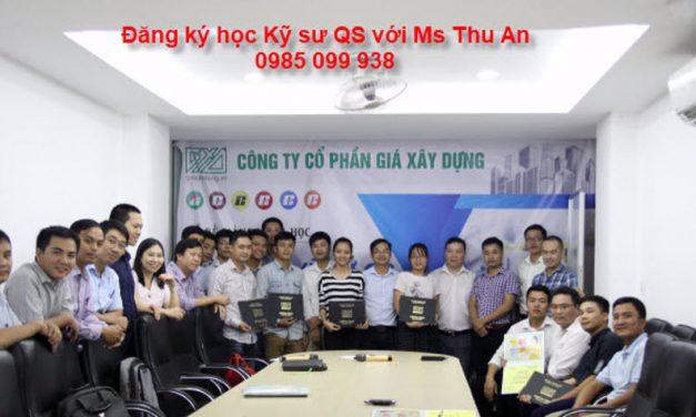 Khoá đào tạo kỹ sư QS hay và tốt nhất Việt Nam