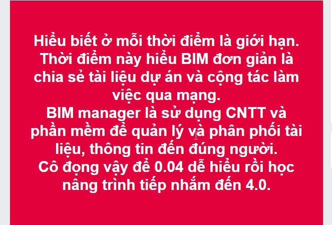 phần mềm quản lý tài liệu 1 BIM Manager giúp việc bạn